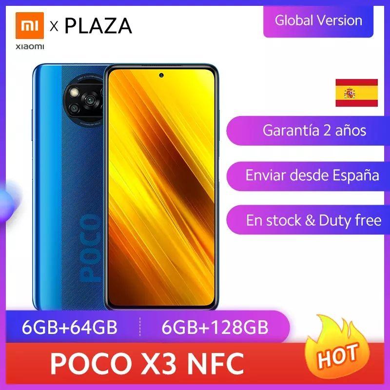 Xiaomi POCO X3 6/64GB desde España ( Aliexpress Plaza)