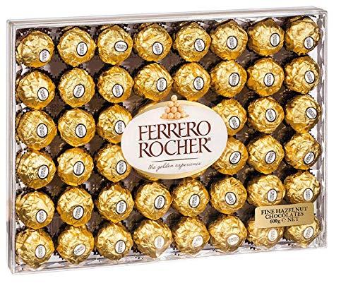 Ferrero Rocher caja de 48 piezas 600 gramos