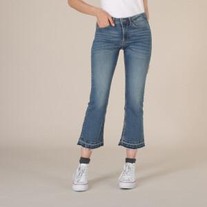 LOIS Jeans - corte evasé - azul denim