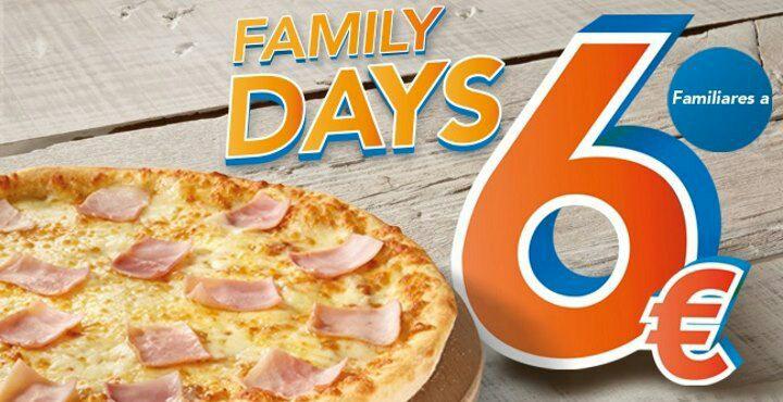 Telepizza Family Days 29 y 30 Noviembre