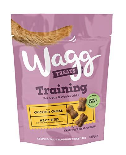 Wagg Treats, chuches para perros (Pack 7x125g)