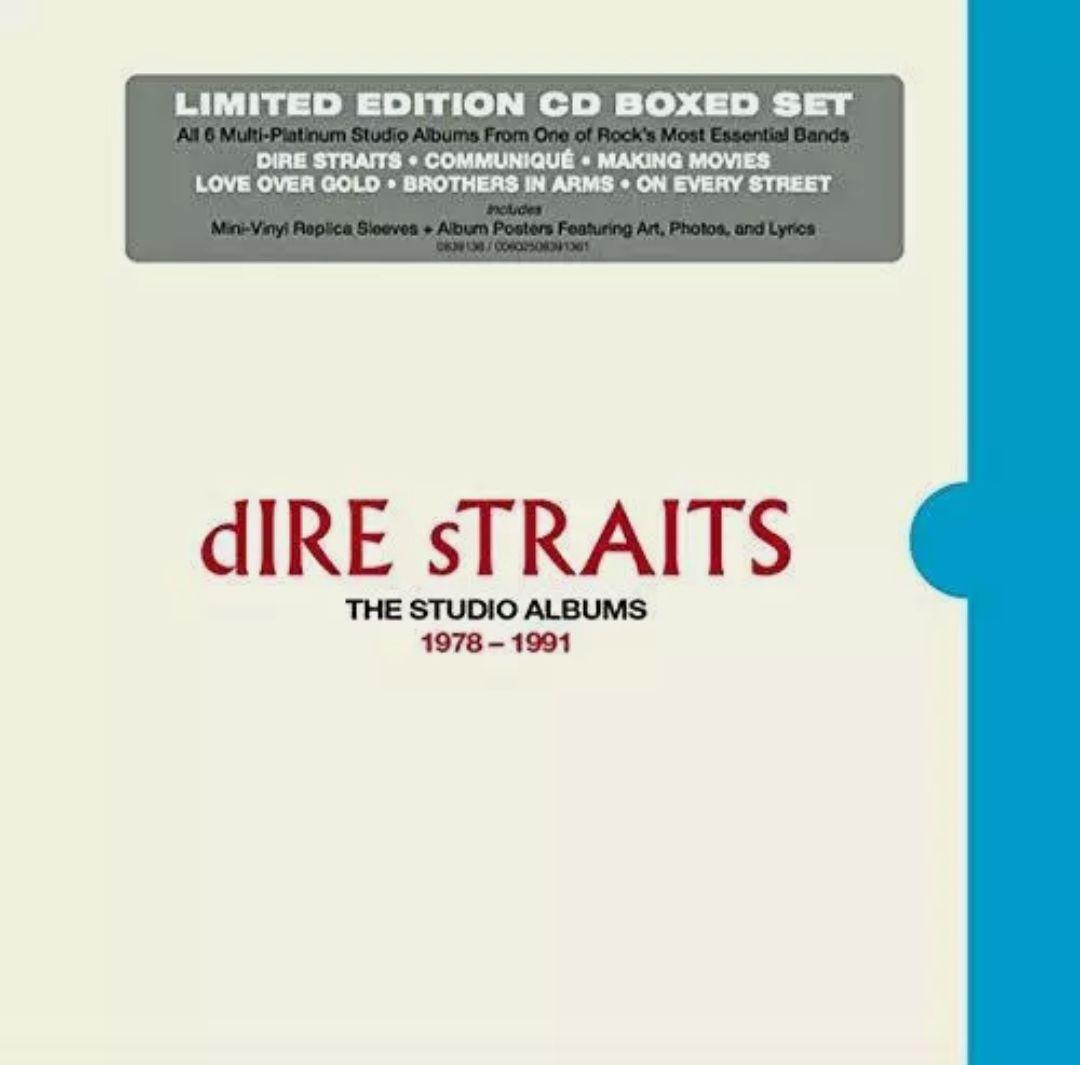 Dire Straits : Los 6 albums studio