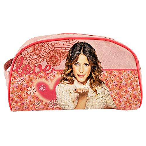 Violetta,Disney. Bolsas de Baño Motivo Rosa.