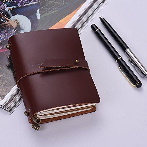 Cuaderno Diario de Viaje Portátil