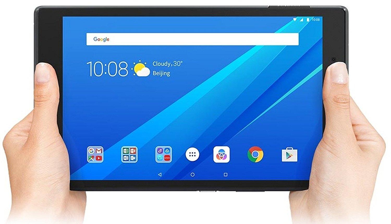"Lenovo TAB4 8 - Tablet de 8"" (WiFi, Bluetooth 4.0, Qualcomm Snapdragon 425, 2 GB de RAM, 16 GB de eMCP, Qualcomm Adreno 308 GPU, sistema operativo Android 7.1.1) negro - teclado QWERTY español"