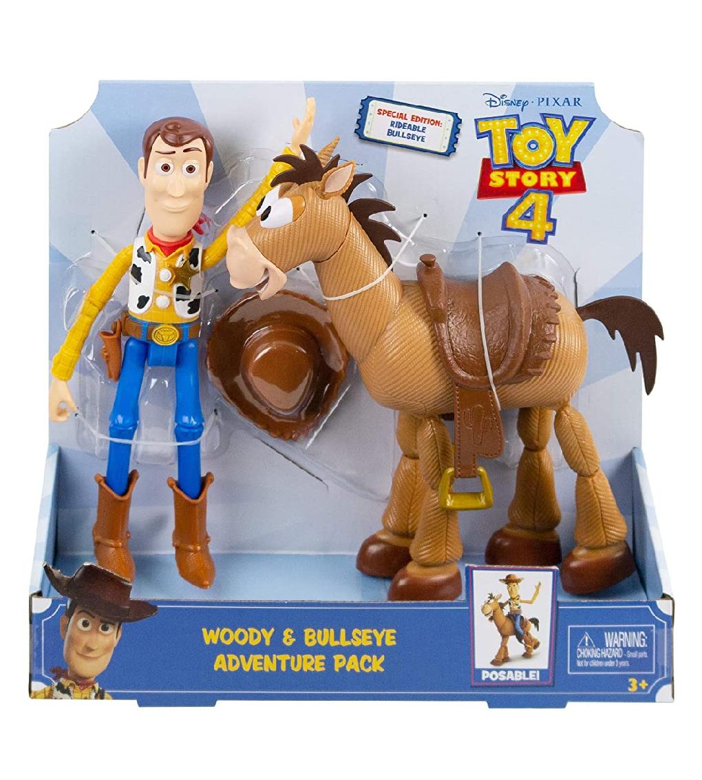 Toy story 4, Woody y perdigon