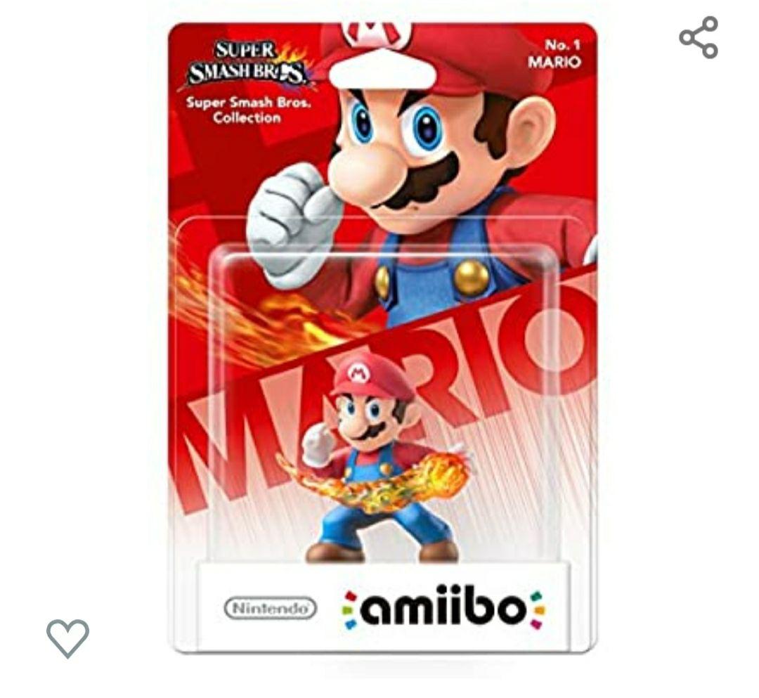 Amiibo N°1 de Super Mario Bros