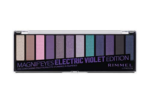 Rimmel London Magnifeyes Palette Paleta de Sombras Electric Violet Edition
