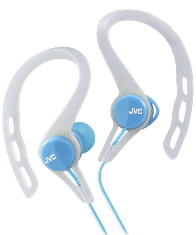 JVC HA-ECX20-A Azul Intraaural Dentro de oído Auricular