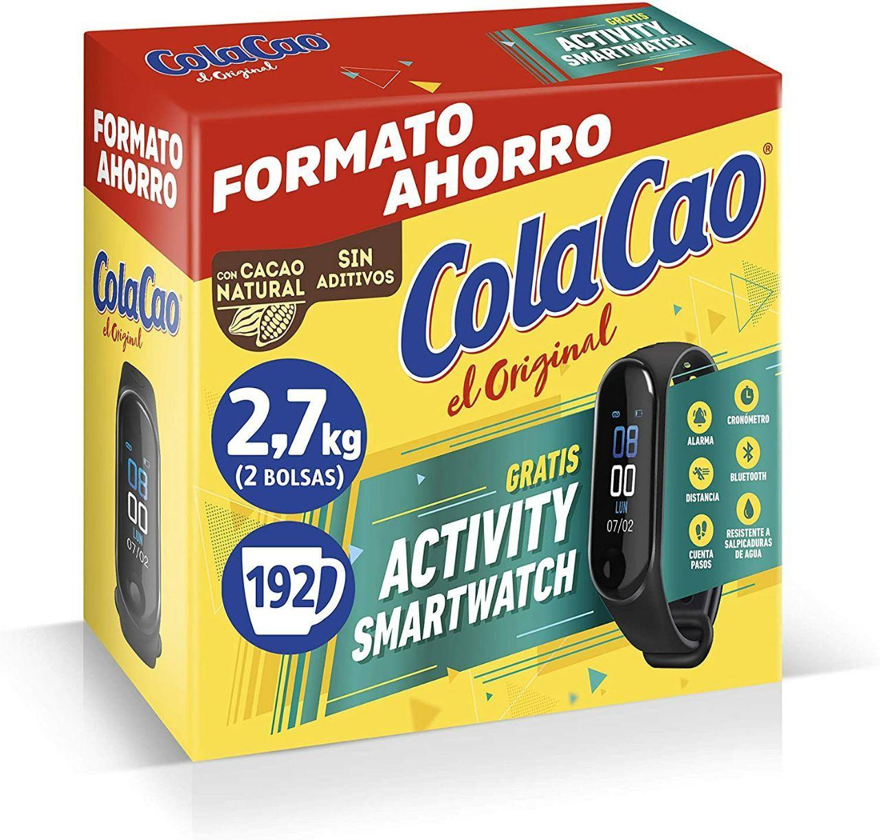 Colacao 2.7 kg + REGALO SMARTWATCH