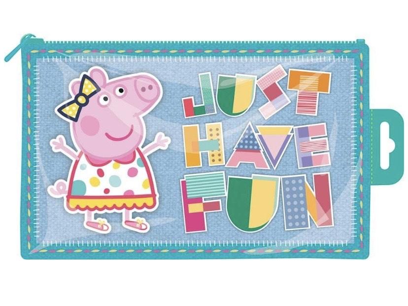 Estuche de plástico Peppa Pig Brillante