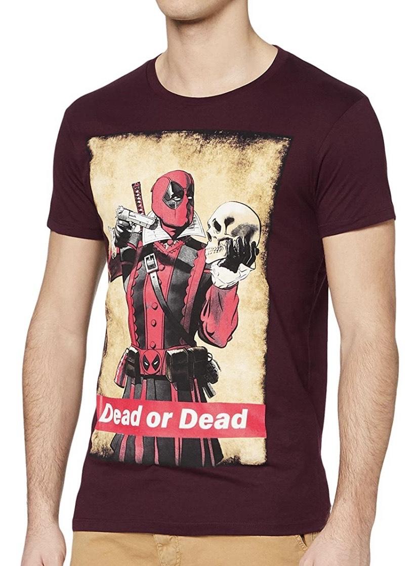 Talla M camiseta Deadpool