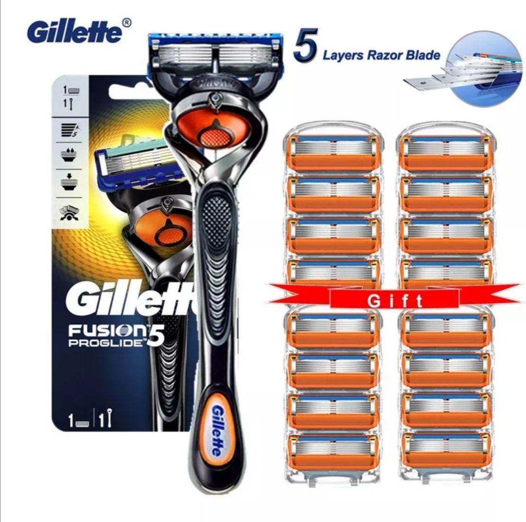 Gillette Fusion Proglide Original + 16 recambios