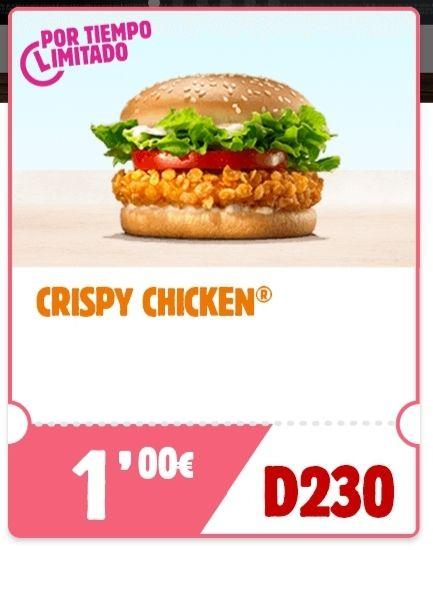 Crispy chicken a 1€