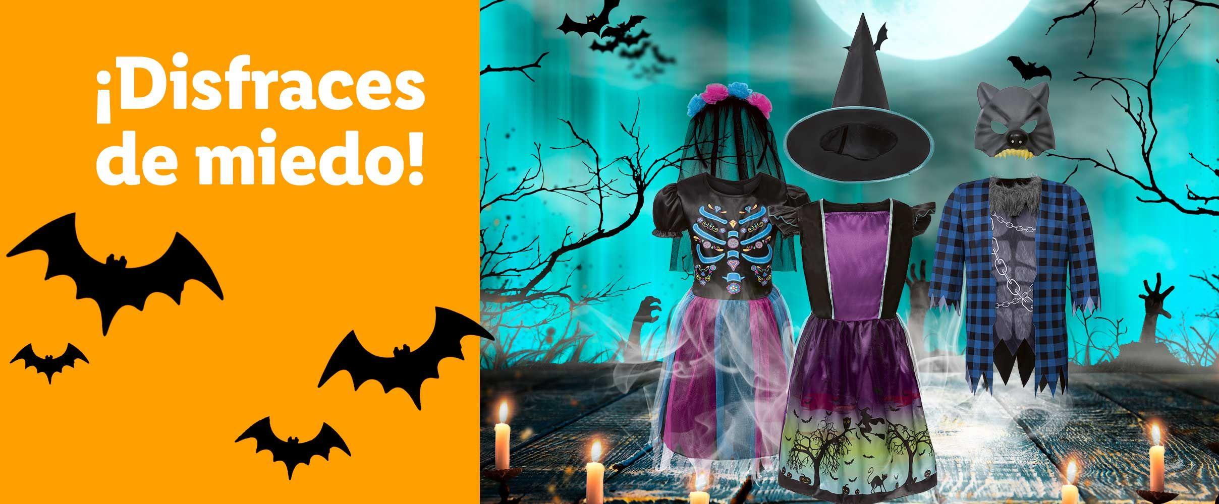 Lidl Disfraces y complementos de halloween para todos