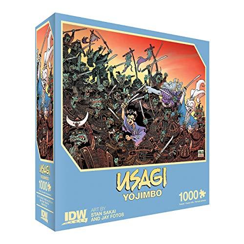 Usagi Yojimbo: Traitors of the Earth Premium Puzzle (1000 piezas) + Póster. Mínimo histórico