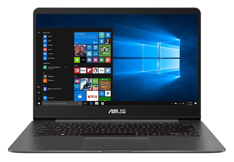 """ASUS Zen Book UX430UA-GV292T - Ordenador portátil de 14.0"""" Full HD (Intel Core i5-7200U, RAM de 8 GB, 256 GB SSD, Intel HD Graphics, Windows 10 Original) metal gris - teclado QWERTY Español"""