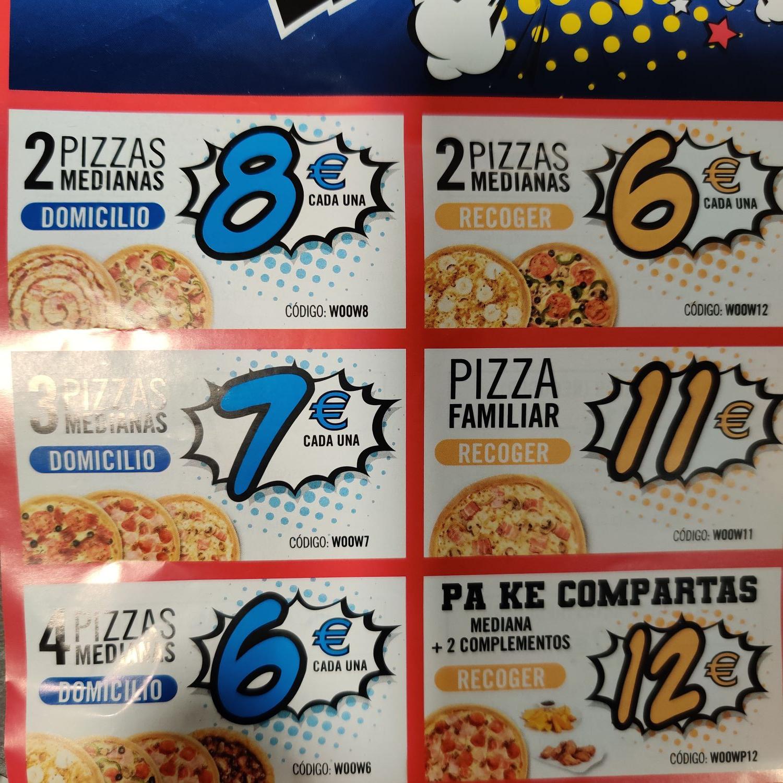 Recopilación Códigos Wooow Dominos Pizza
