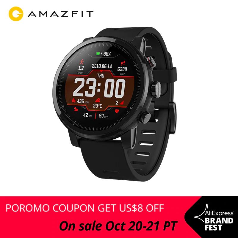 Amazfit Stratos desde España por solo 66,83€