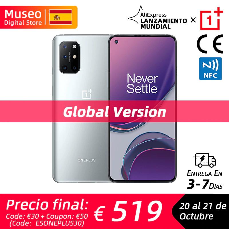 Oneplus 8T 12/256 por 569€ desde España