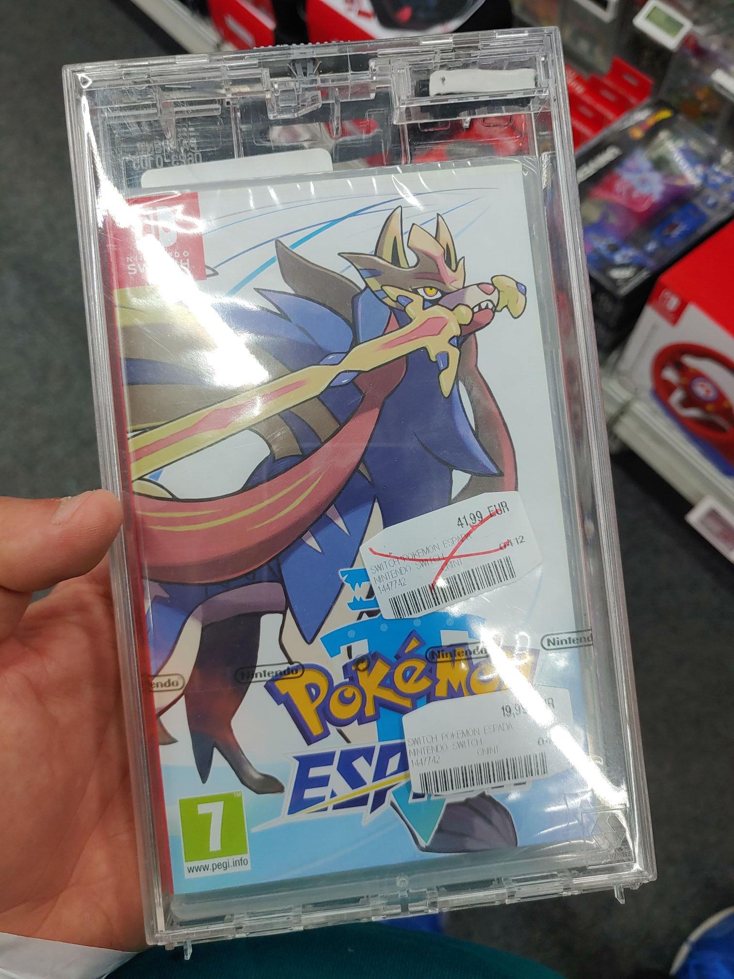 Pokemon espada escudo 19.99 (mediamarkt de Siero)