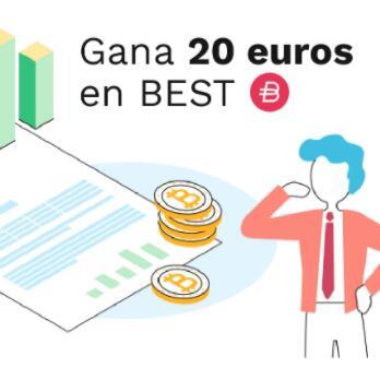 Gana 20€ con Bitpanda al invertir 20€