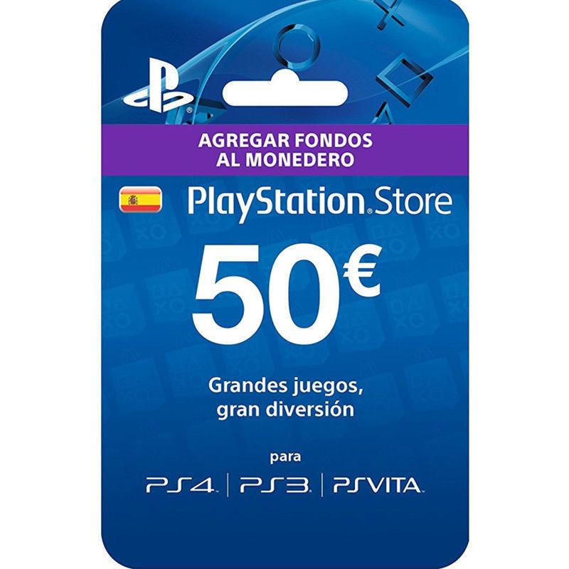 Tarjeta prepago PlayStation 50€ por 40,99€