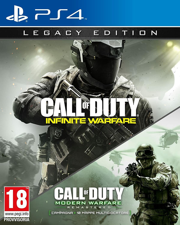 CoD Infinite Warfare + CoD Modern Warfare Remastered (PS4) por 9,90€