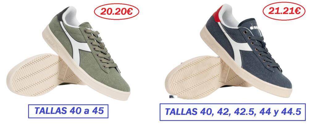 EN 2 COLORES - TALLAS 40 a 45 - Diadora GAME CV, Zapatillas Unisex Adulto