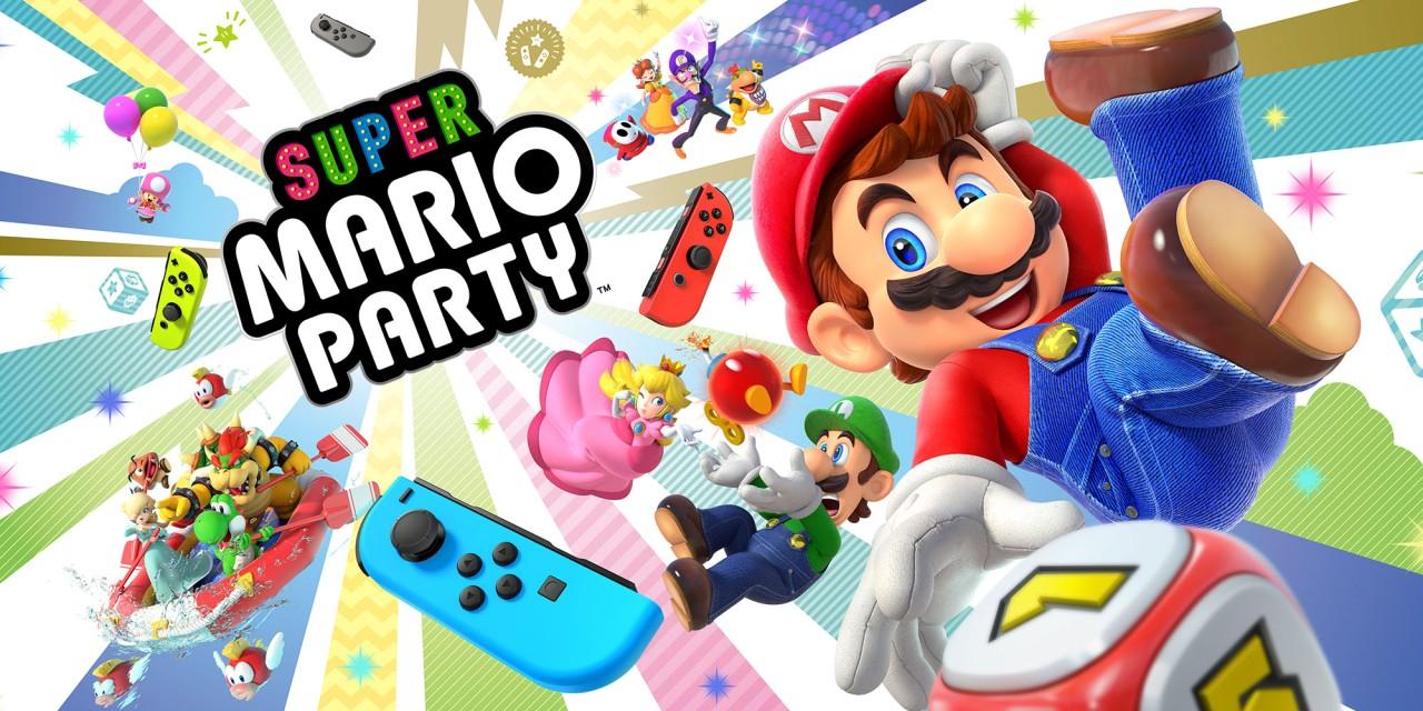Super Mario Party y otros juegos de Mario con 33% de descuento