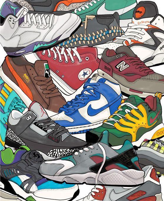 Recopilación zapatillas (varios modelos y tallas )