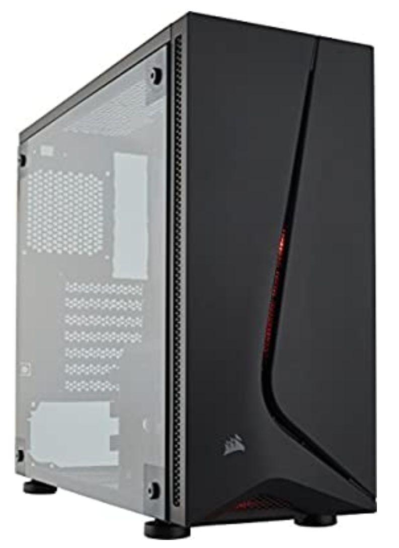 Corsair Carbide Series SPEC-05, Caja de PC (Mid-Tower ATX con Cristal Templado)