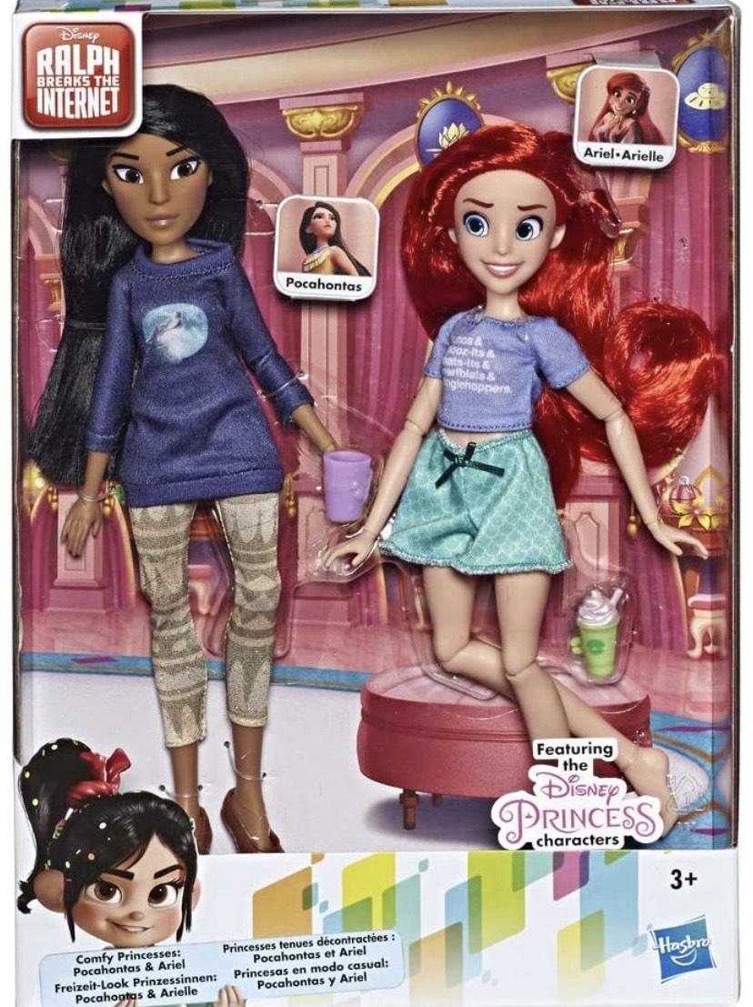 Disney Princess - Paquete con Princesas Ariel & Pocahontas