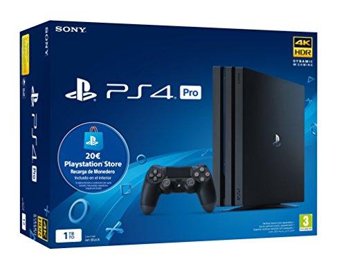 PS4 Pro 1tb + Tarjeta Prepago 20€