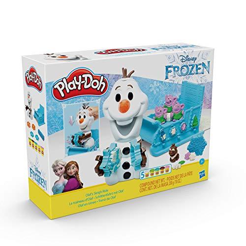 Play-Doh Olaf en trineo