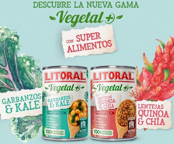 Litoral Vegetal Nueva gama - 1€ Dto.