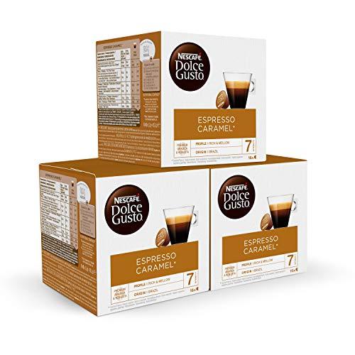 NESCAFÉ Dolce Gusto Cápsulas de Café Espresso Caramel 48 cápsulas