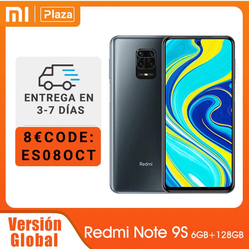Xiaomi Redmi Note 9S 6GB 128GB desde España
