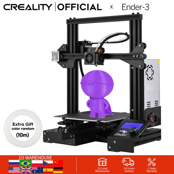 Impresora 3D - CREALITY Ender 3x por 131€ desde España