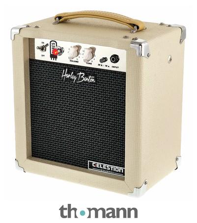 Amplificador de válvulas Harley Benton TUBE5 Celestion