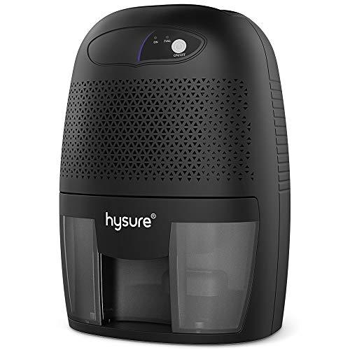 Hysure Deshumidificador Compacto y portátil, 500 ml
