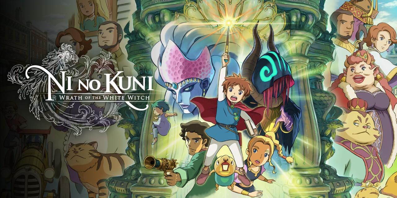 Ni no Kuni: La ira de la bruja blanca, Nintendo Switch (Eshop Sudáfrica)