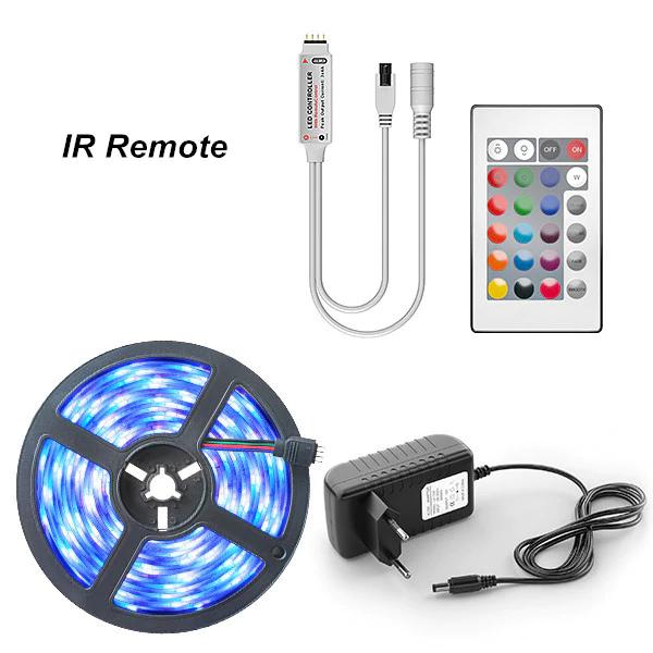 Tira LED RGB 5M + Accesorios