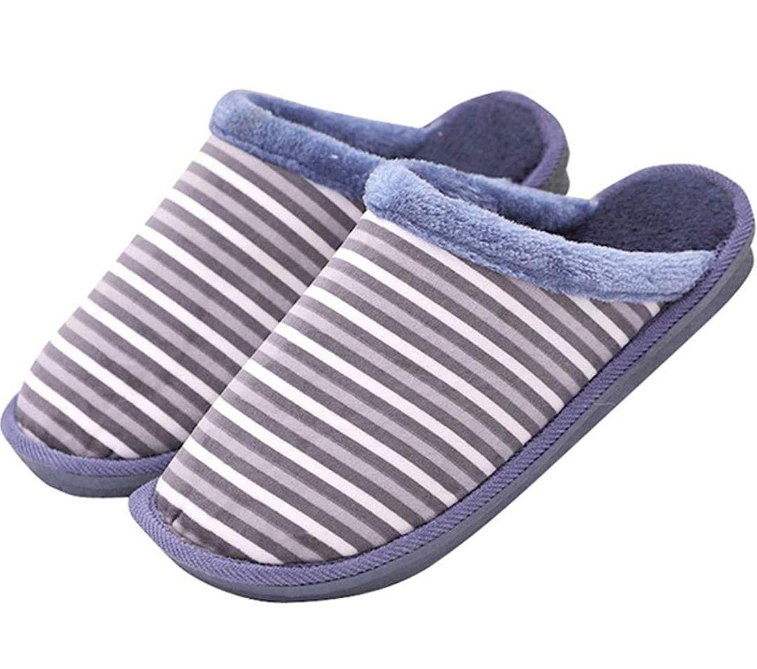 Zapatillas de Casa para Hombre/Mujer, Confort Memoria Espuma Antideslizantes Invierno Cálido Confortables