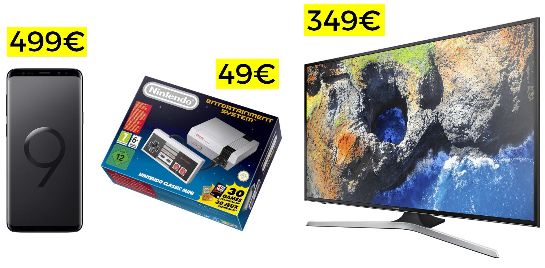 """Más chollos Bay (Samsung S9 a 499€, TV Samsung 43"""" 4K a 349€ y NES Classic a 49€)"""