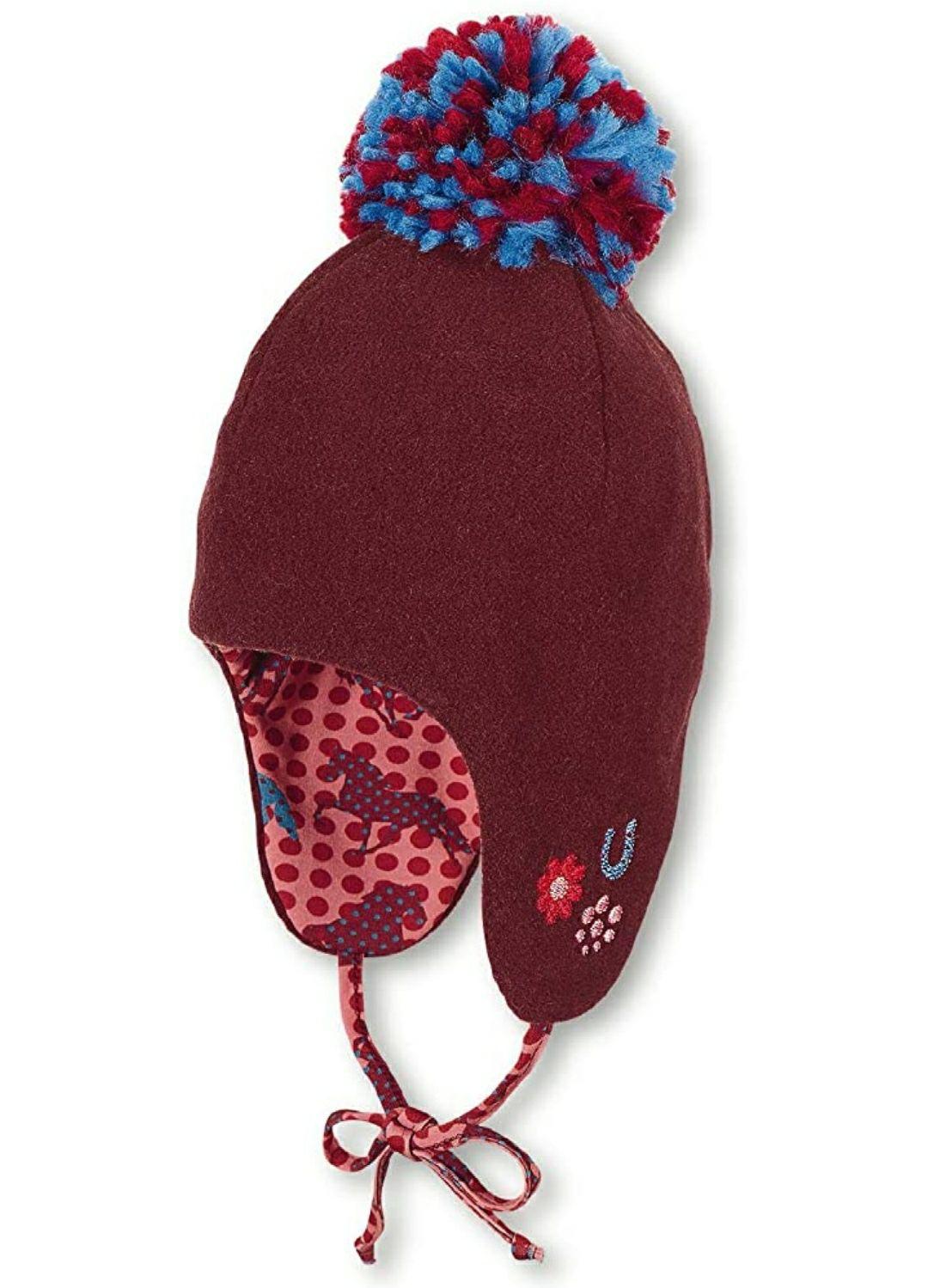 TALLA 45cm - Sterntaler Inka-mütze Cappellopello Gorro de Punto para Bebés