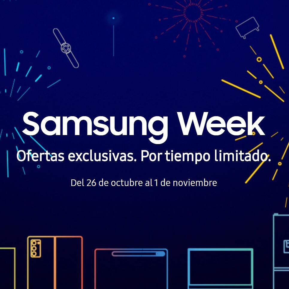 Samsung Week - Ofertas limitadas