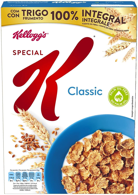 Cereales Special K segunda unidad al 50% en Carrefour
