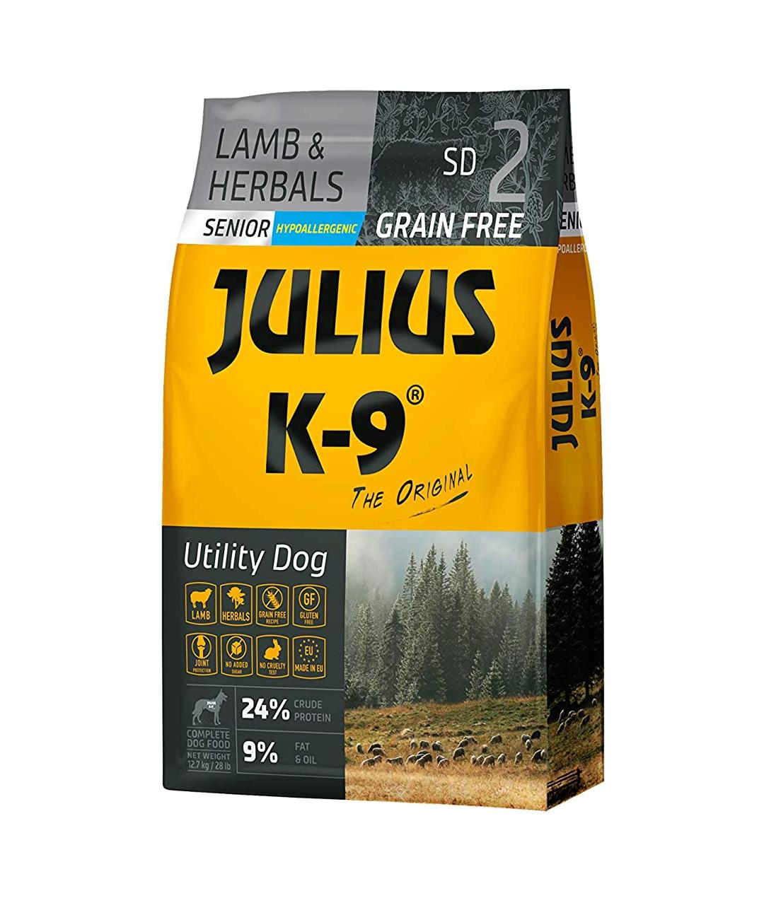 Pienso perros senior grain free Julius-k9