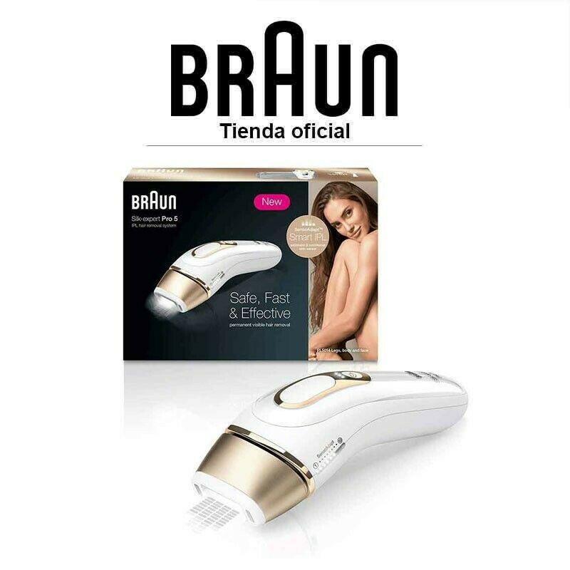 Depiladora de Luz Pulsada Braun Silk-Expert Pro 5